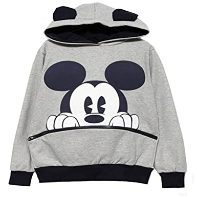 579d76dd41746 reine à la mode- Fashion Sweats à capuche de Femme Casual Mickey Mouse (S