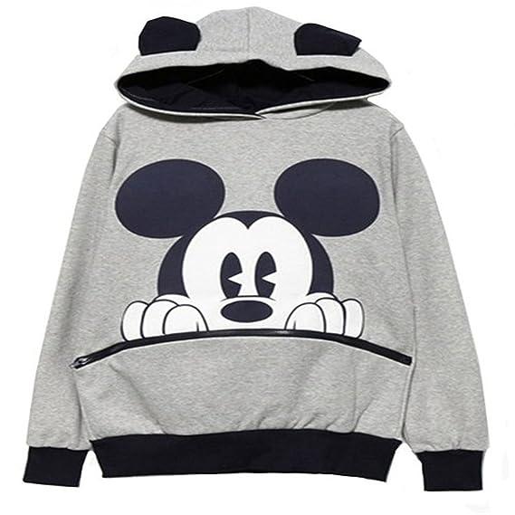 Vente chaude 2019 code promo prix favorable Ninimour- Fashion Sweats à capuche de Femme Casual Mickey Mouse