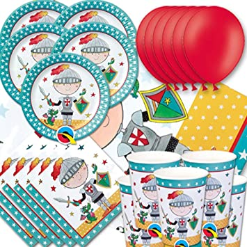 Rachel Ellen Partyware Knight Party Plastic Tablecover