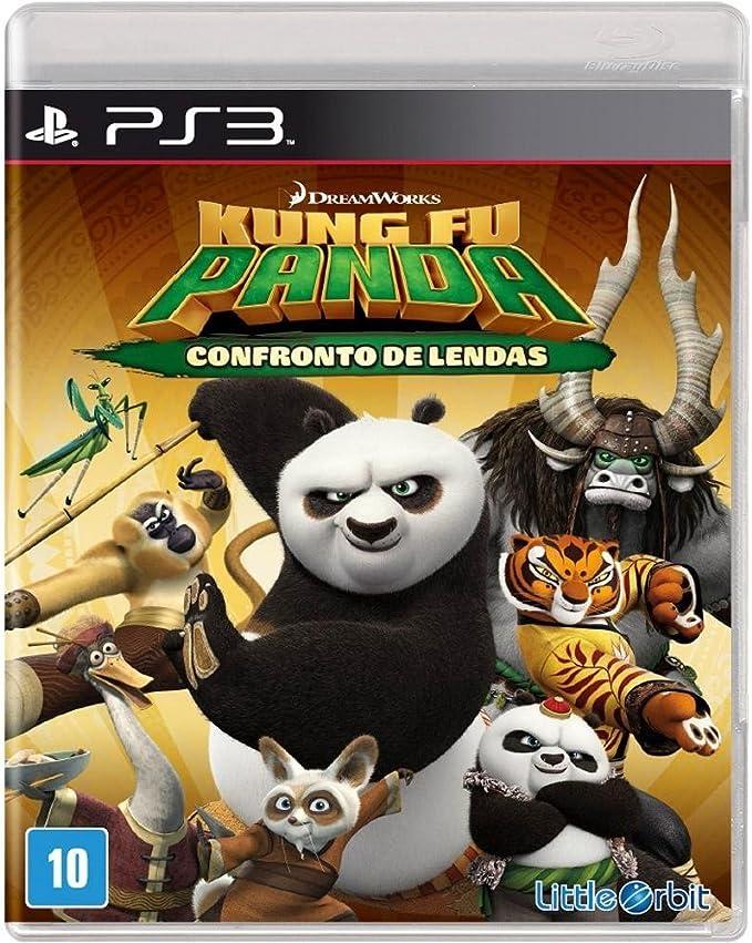 Jogo Kung Fu Panda: Confronto de Lendas - PS3   Amazon.com.br