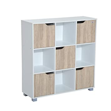 modern item living cabinet office storage bookcase room closet shelf bookcases cubic tier organizer giantex diy
