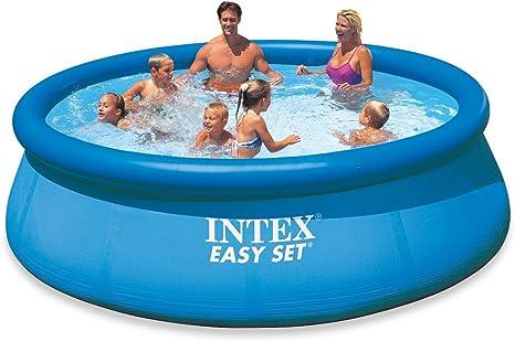 Intex Easy Set - Piscina hinchable, 366 x 76 cm, 5, 621 l: Amazon ...