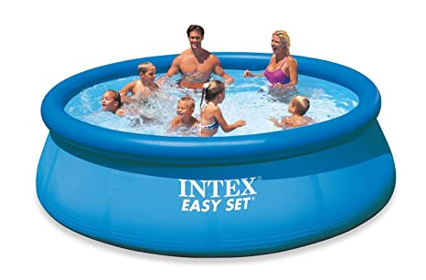 Intex Easy Set - Piscina hinchable, 366 x 76 cm, 5, 621 l: Amazon.es: Jardín