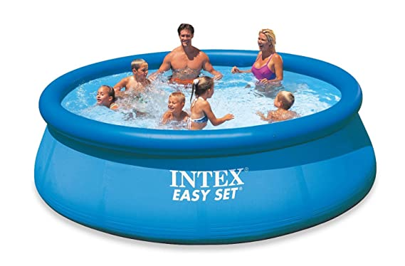 Intex Easy Set - Piscina hinchable, 366 x 76 cm, 5,621 l
