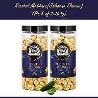 Wonderland Roasted Makhana Jalapeno Foxnuts 200g (100g Each)