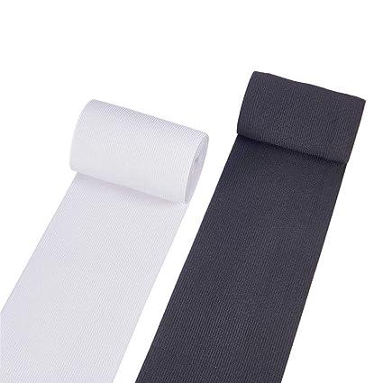 5 m cinta elástica medianas fuerza de tracción blanco 50 mm