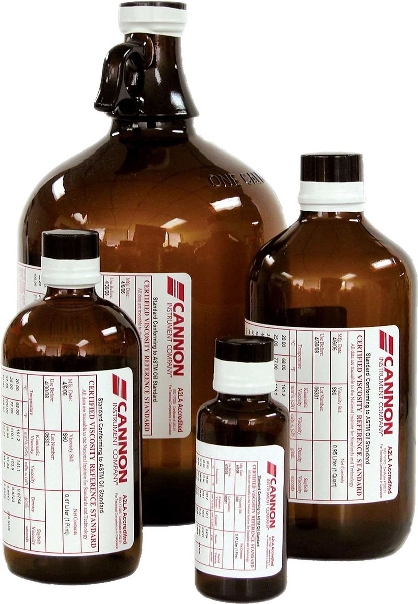 BYK-Gardner 4048 Certified Viscosity Standard Oils for Rotational Viscometers, Brookfield-Type, RT60000