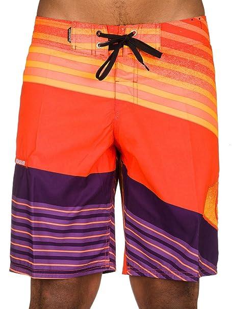 Quiksilver Inclinelogo19 Bañador para hombre, Hombre, Orange ...