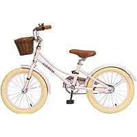 ACEGER Girls Bike with Basket for Kids, 14 inch with Training Wheels, 16 inch with Training Wheels and Kickstand, 20…
