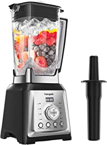 Professional Blender for Kitchen, homgeek 1450W High Speed Countertop Blender with 70oz Tritan Pitcher, Smoothies Blender Marker for Crushing Ice, Frozen Fruits and Shakes, 8 Adjustable Speeds