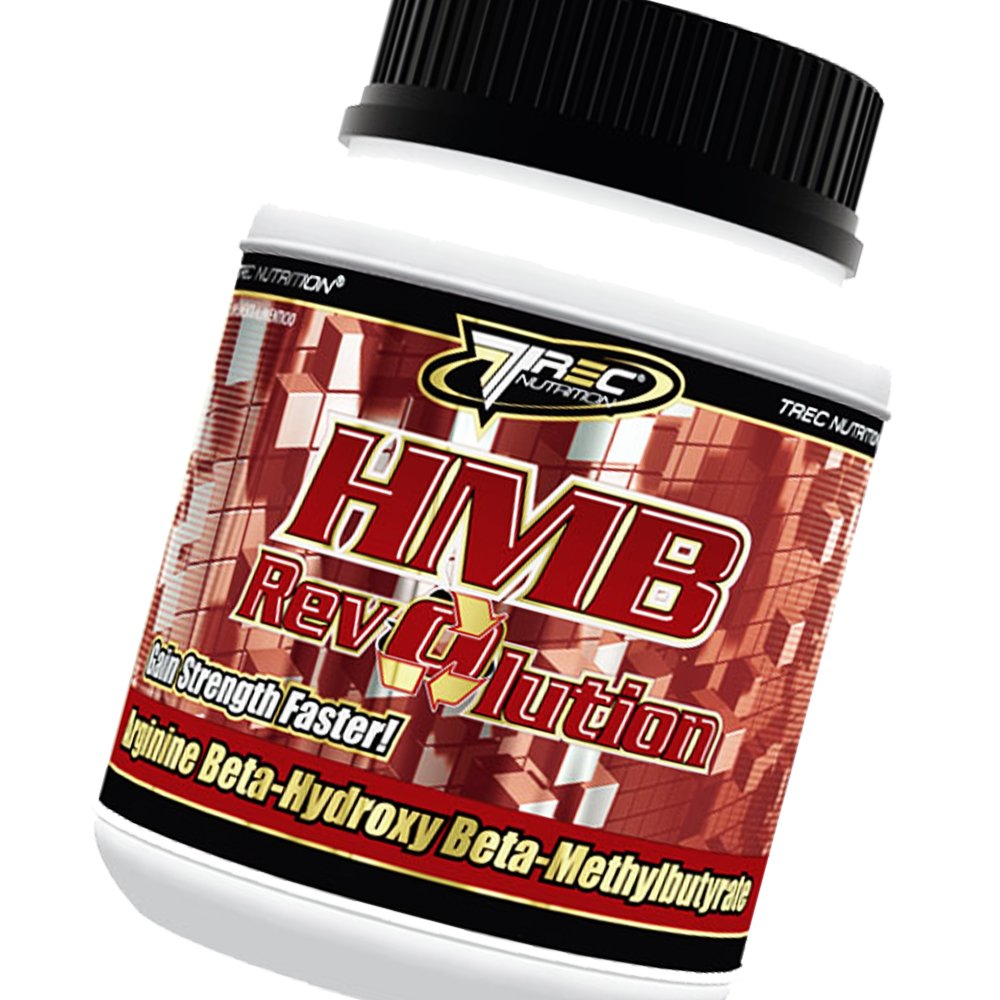 HMB REVOLUTION 150 CAPSULES - GAIN FAT - FREE MUSCLE + POWER FROM NITRIX OXIDE - TREC NUTRITION by MagicSupplements