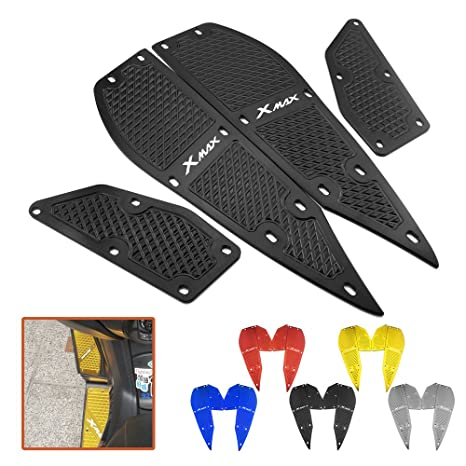 Heinmo Motorcycle Front and Rear Foot Pegs Footrest Step Motorbike Pedals Foot Pegs Sidestand Enlarge Foot