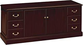 product image for HON 94244NN Credenza, with Doors, 72-Inch x24-Inch x29-1/2-Inch, Mahogany