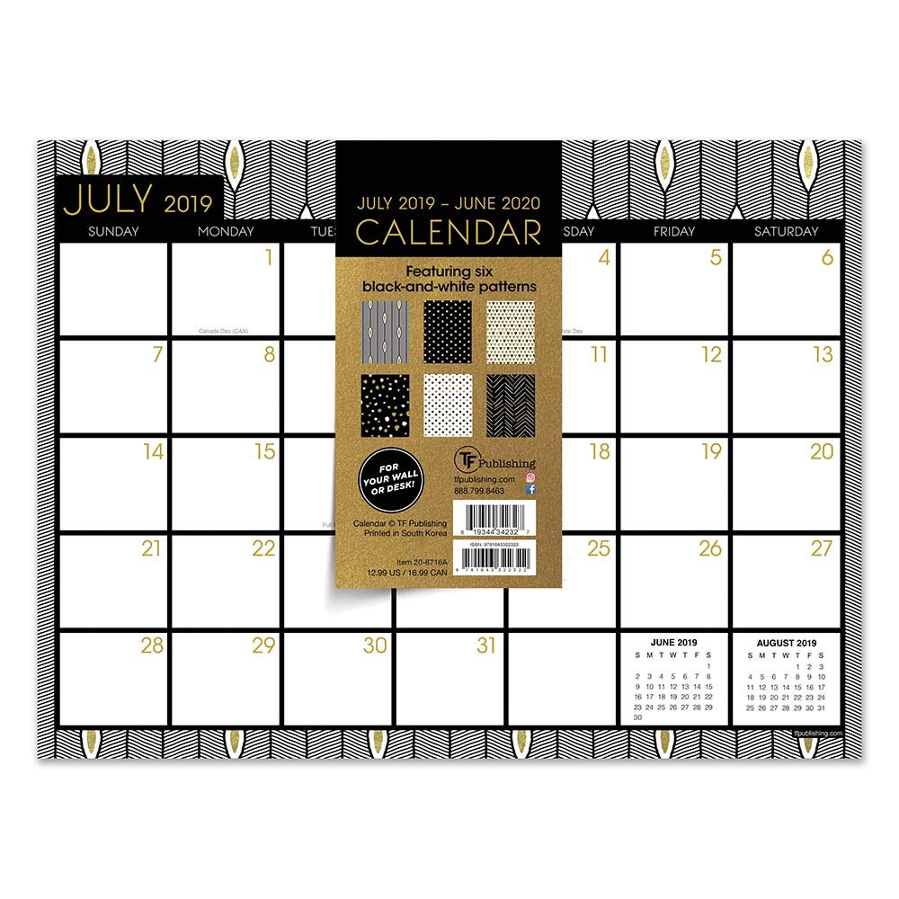 Games For Gold July 2020.Black White Gold July 2019 June 2020 Calendar Tf