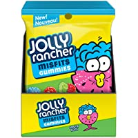 JOLLY RANCHER Sour Misfit Candy Gummies, 182 Gram (Pack of 10)