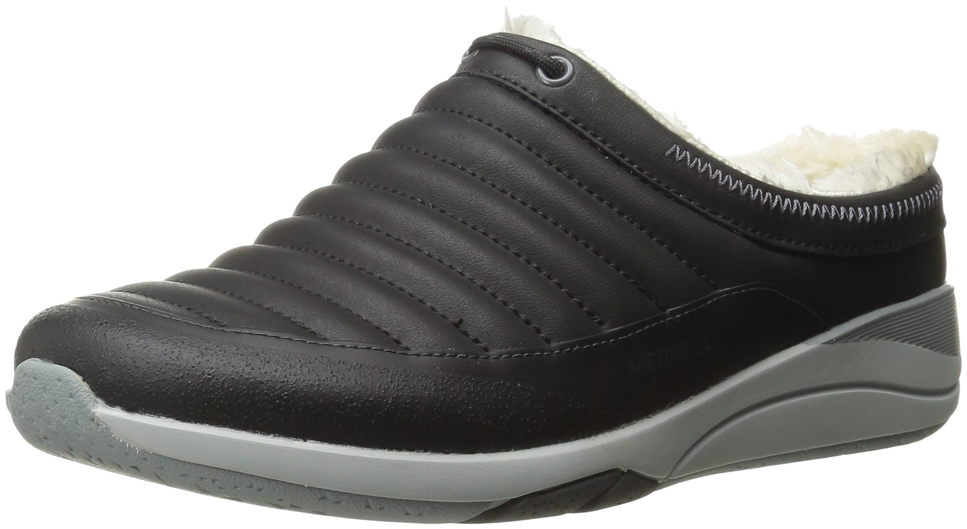 Merrell Women's Applaud Chill Slip-On Shoe, Black, 6 M US