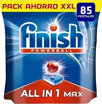 Finish Powerball All in 1 Max - Pastillas para el lavavajillas ...