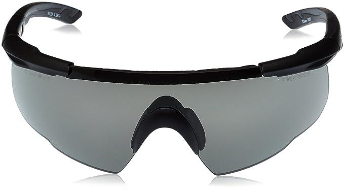Amazon.com: Wiley X Saber Gafas de tiro avanzadas, Negro ...