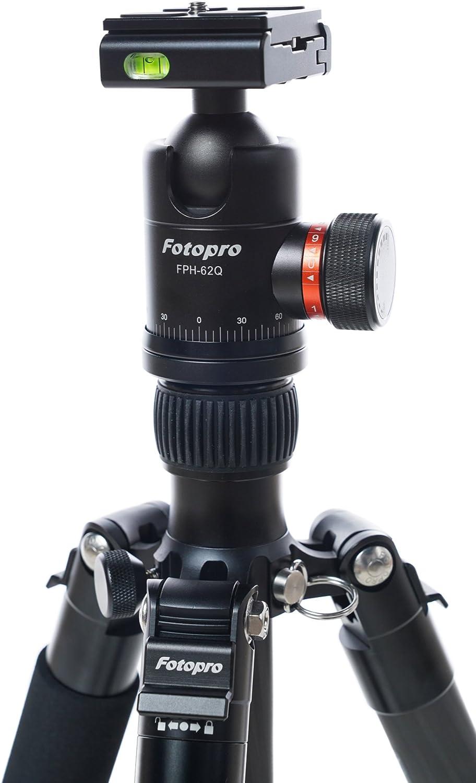 Fotopro X-Go Max Tripod Kit Black