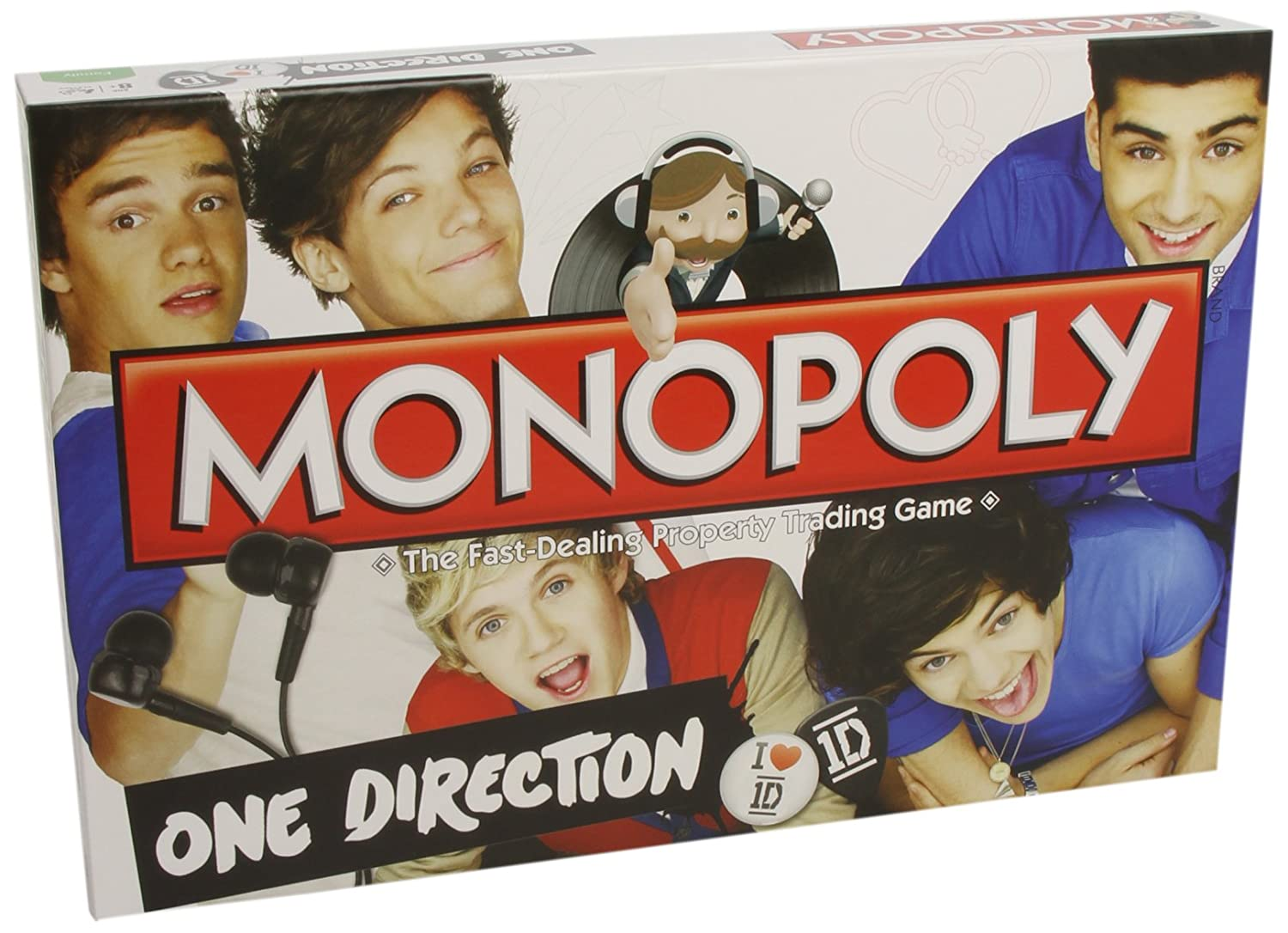Uncategorized Games One Direction amazon com one direction monopoly toys games