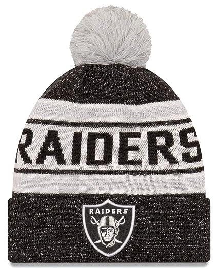 6bb0f8d6f8c Oakland Raiders New Era NFL  quot Toasty Cover quot  Cuffed Knit Hat ...