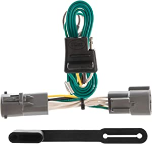 CURT 55316 Vehicle-Side Custom 4-Pin Trailer Wiring Harness for Select Ford F-Series, Cab and Chassis Pickup Trucks