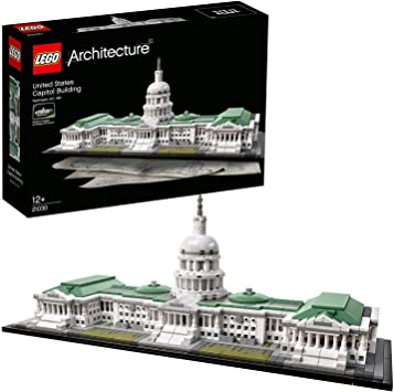 Lego 21030 Architecture United States Capitol Building Model Set Skyline Collection Construction Collectible Gift Idea Contains 1 032 Pieces Amazon Co Uk Toys Games