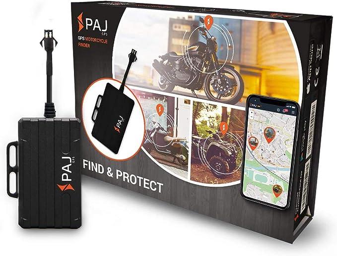 Paj Gps Motorcycle Finder Gps Tracker Auto Motorrad Fahrzeuge Und Lkw S Motorrad Peilsender Als Diebstahlschutz Direktanschluss Kfz Batterie 9 75v Auto