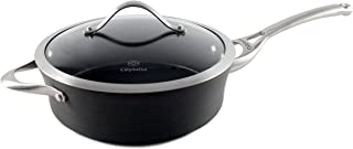 product image for Calphalon Contemporary Hard-Anodized Aluminum Nonstick Cookware, Saute Pan, 3-quart, Black