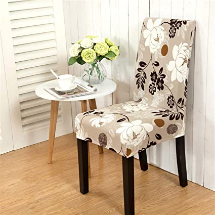 Amazon.com: Balalei Kitchen Chair Cover Dining Seat Cover ...
