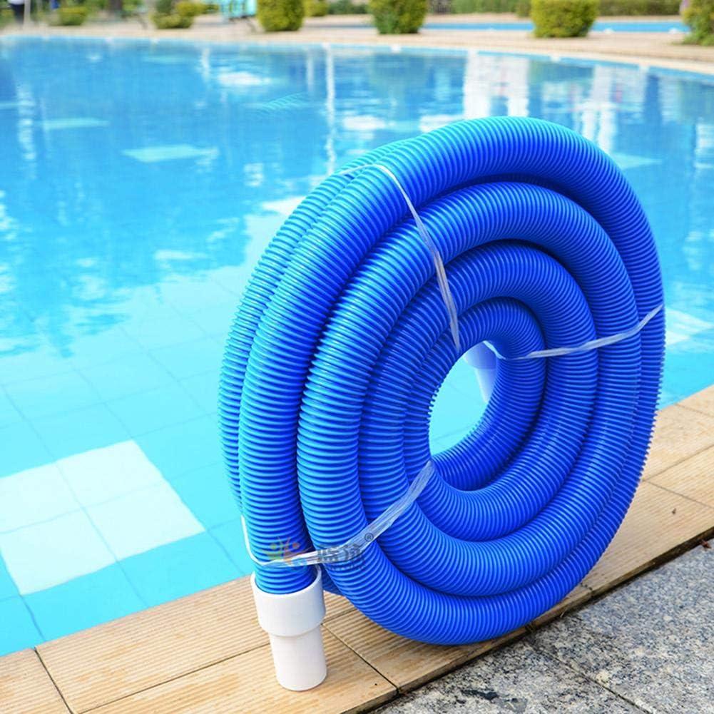 runnerequipment Accessori per la Pulizia di Tubi di aspirazione a Doppio Strato Tubo Flessibile per Vuoto Piscina con Bracciale Girevole