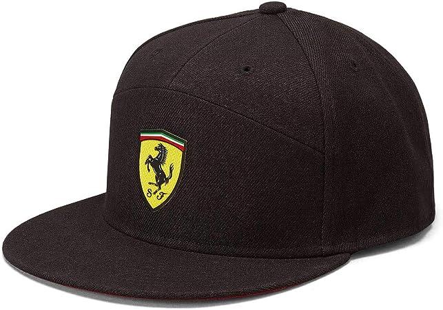 Gorra de ala Plana Negra de la Marca Sports Merchandising B.V. ...