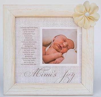 Amazon.com: Mimi\'s Joy Picture Frame with Poetry: Baby