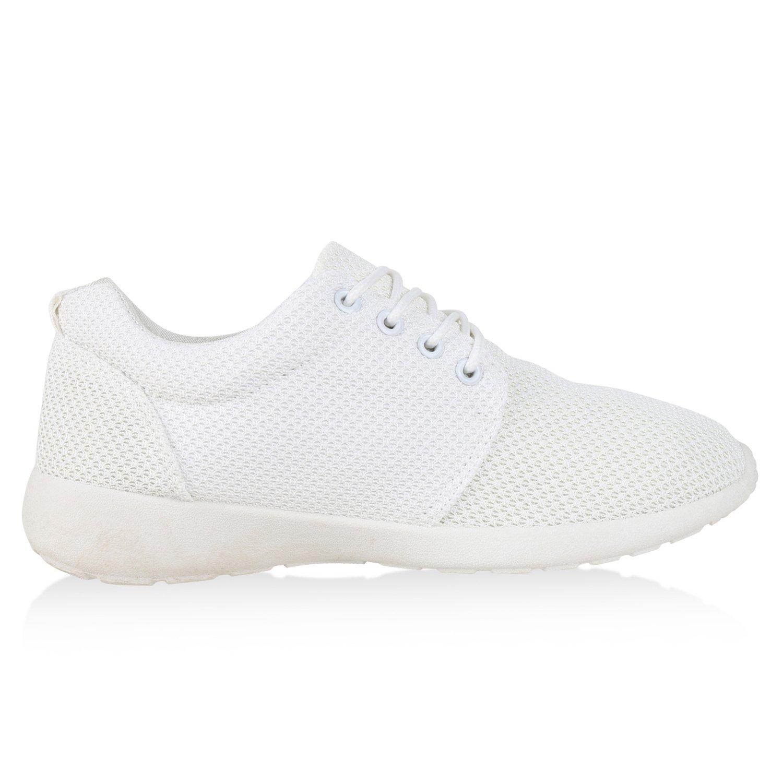 best-boots Sport Unisex Damen Laufschuhe Fitness Sneaker Sport best-boots Turnschuhe Weißs Total Nuovo 26c67b