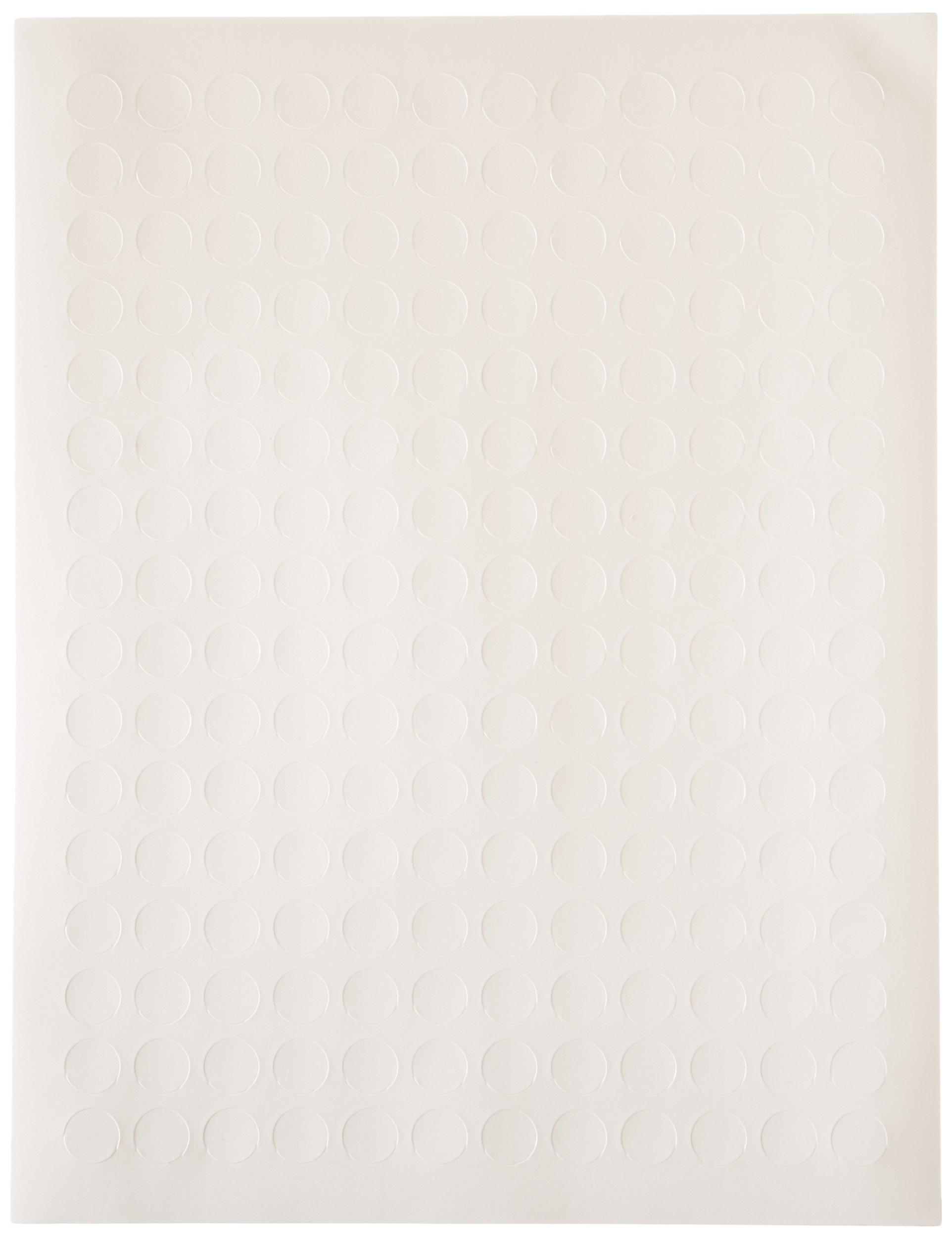 Diversified Biotech Tough-Spots SPOT-2000 Polyvinyl Laser Label, 1/2'' Diameter, White (Pack of 3840) by DIVERSIFIED BIOTECH
