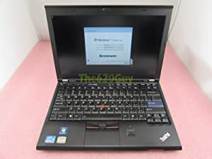 "Lenovo ThinkPad X220 Laptop 12.5"" IPS Core i5 2.6GHz 4GB 128GB SSD Intel HD WIN7"