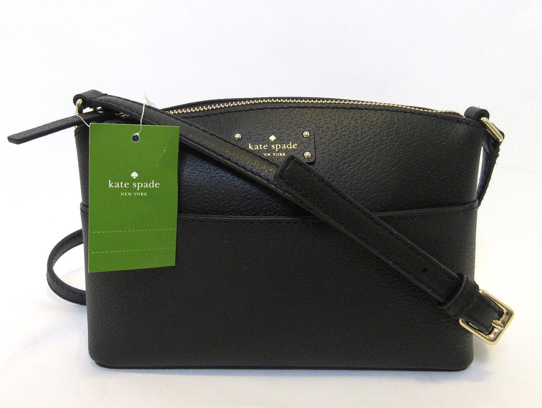 de02a374b358 Details about NWT Kate Spade Grove Street Millie Leather Shoulder Handbag  Purse WKRU4194 Black