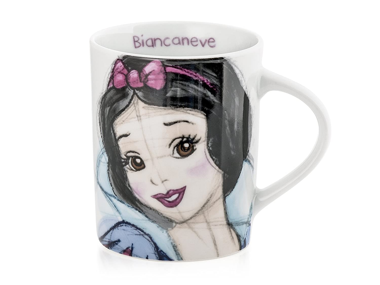 H H & Disney Nani Sketch Taza Mug, decoro FRAC, 340CC, Porcelana H&H