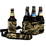 Click to open expanded view StubbyStrip Premium Portable Insulated Drink Carrier Neoprene 1-7 Bottle or Can Holder,Camo