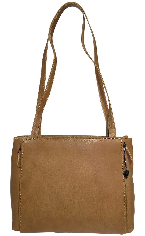 Josephine Josephine Josephine Osthoff Handtaschen-Manufaktur Josybag's beliebte Ledertasche Bermuda 5 Reißverschlussfächer handgefertigt B071K6FD3P | Modisch  | Speichern  | Modernes Design  3fa8c7