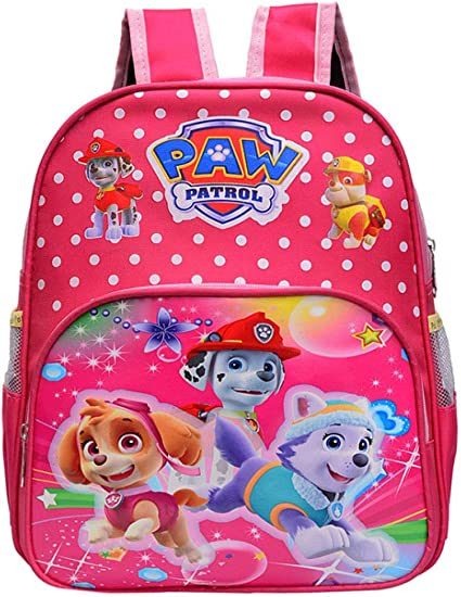 Miotlsy Paw Patrol Sac à Dos Pat Patrouille, Cartable Fille Mighty ...