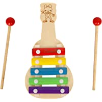 Zaavic Wooden Guitar Toy for Toddlers and Kids
