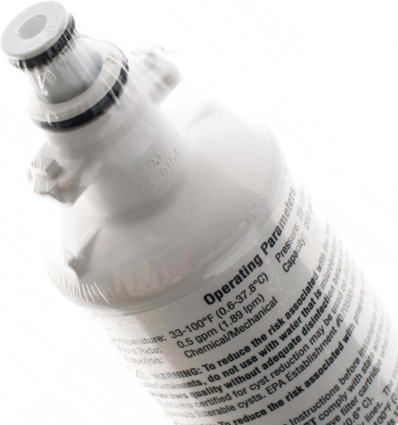 Kenwood - Filtro de agua purificador para frigorífico y congelador ...
