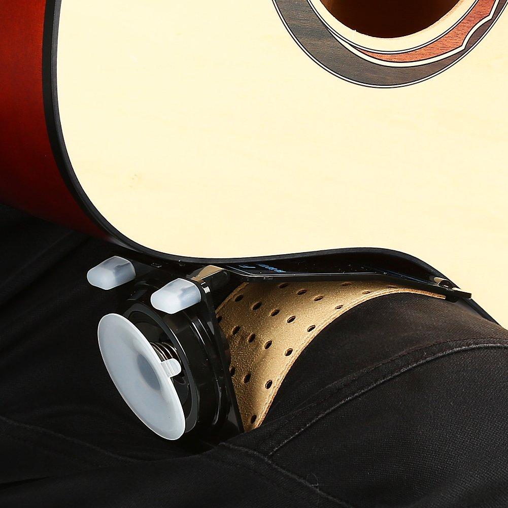 Dilwe Soporte de Guitarra Multifuncional Guitarra Resto del Cuello Foot Stool Soporte para Guitarras Ac/ústicas Cl/ásicas Ac/ústicas Populares Cl/ásicas