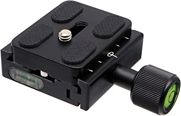 "Arca Swiss 38mm Standard UNC1//4/"" screw L bracket quick release plate for Camera"