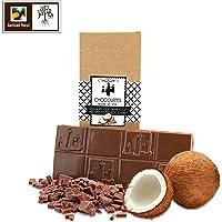 Chocolate con leche y coco artesano