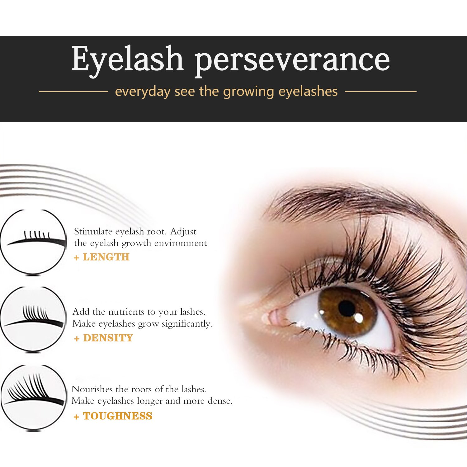 Amazon Eyelash Enhancer Hypoallergenic Natural Advanced Eyelash