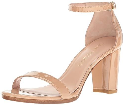 873b9dea09 Stuart Weitzman Women's Nearlynude Heeled Sandal: Amazon.ca: Shoes ...