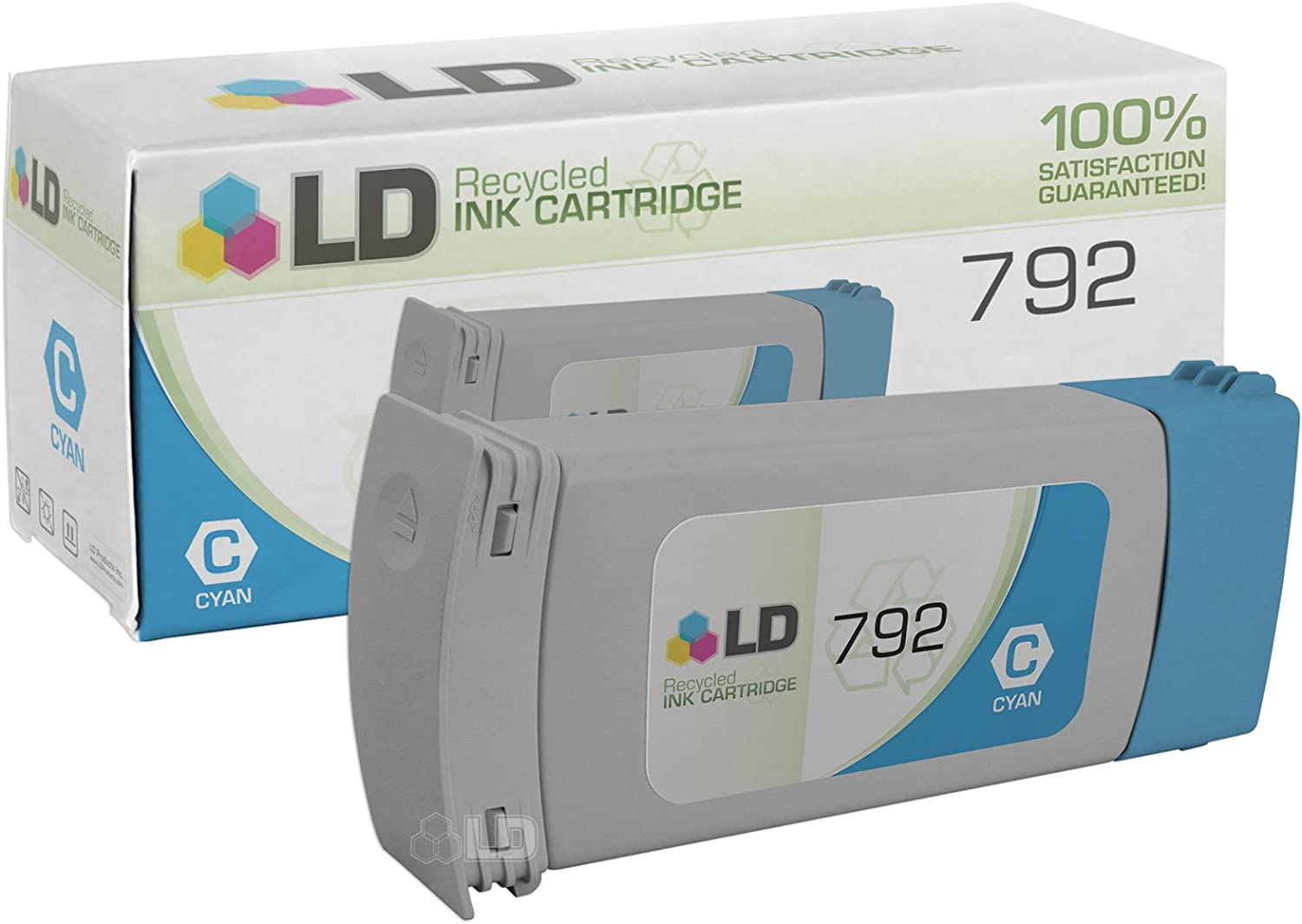 LD Remanufactured Ink Cartridge Replacement for HP 792 CN706A (Cyan)