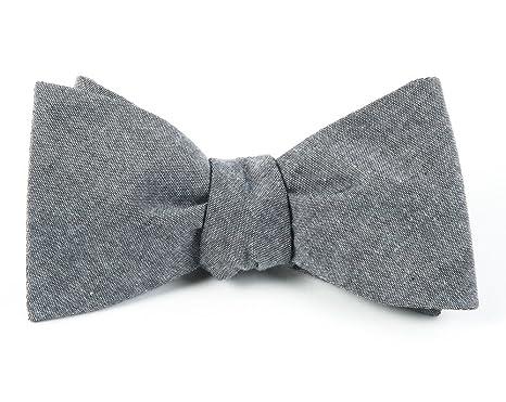 Mens Cloud-Pattern Cotton-Linen Necktie Title Of Work IRYDaZgZW1